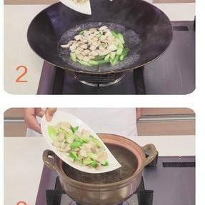 滋补汤煲——燕窝芦笋蚬肉汤